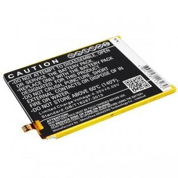 Bateria WIKO Ridge 4G TLP1505 compatível 3,8v 2.4Ah 9.1Wh