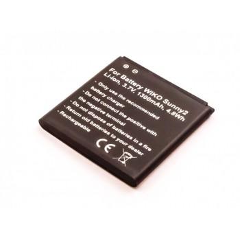 Bateria para Wiko Sunny2 3,8V 1300mAh, 4.8Wh