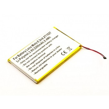 Bateria para Lenovo Moto E 2nd, 3,8V 2200mAh 8,4Wh