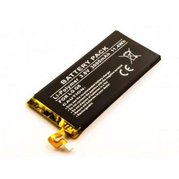 Bateria para LG Q6 BL-T33, 3,8V 3000mAh 11,4Wh