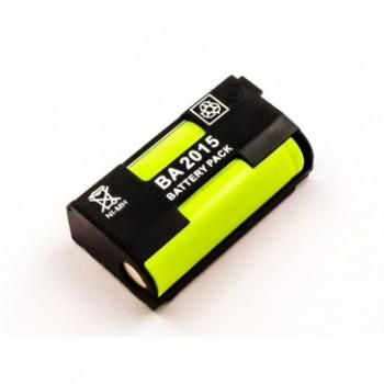 Bateria para Sennheiser BA2015, NiMH, 2,4V, 1500mAh, 3,6Wh