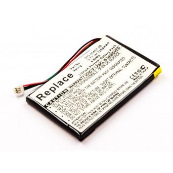 Bateria GPS Garmin Nuvi 770 770T compatível 3,7V 1250mAh 4.6Wh