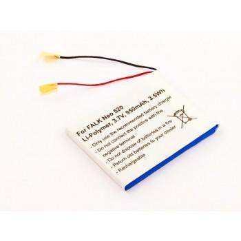 Bateria GPS Falk Neo 520 compatível 3,7V 950mAh 3.5Wh