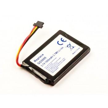 Bateria GPS TomTom Go 5000  Go 6000 compatível 3,7V 1000mAh 3.7Wh