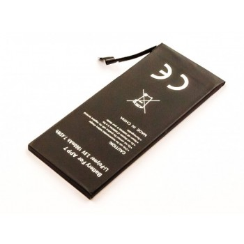 Bateria Apple iPhone 7 compatível 616-00255 3,8V 1960mAh 7,45Wh