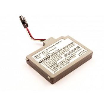 Bateria para Nintendo Wii U Gamepad, 3,7V 1500mAh 5,6Wh