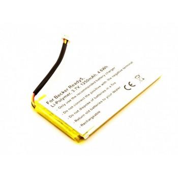 Bateria GPS Becker Ready 5 compatível 3,7V 1250mAh 4.6Wh