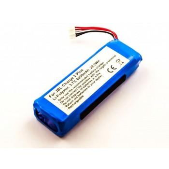 Bateria coluna JBL Charge 2 Plus compatível 3,7V 6000mAh 22,2Wh