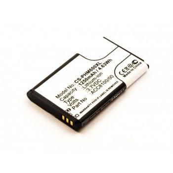 Bateria para Philips Pocket Memo DPM8000