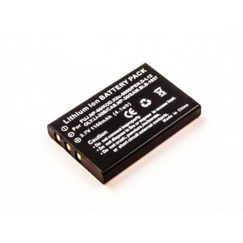 Bateria FujiFilm NP-60 compatível 3,7V 1100mAh