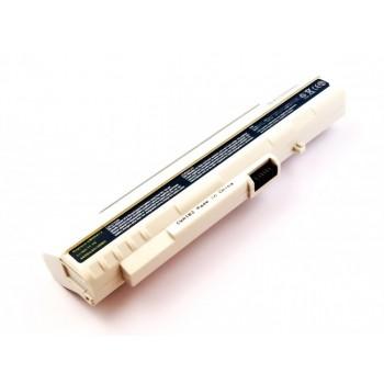 Bateria para Acer Aspire One A110 UM08A31, 11,1V 4400mAh branca