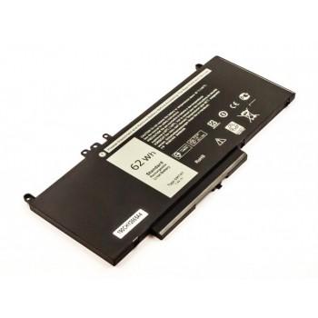 Bateria Dell Latitude E5450 E5470 E5550 compativel 7,6V 8155mAh 62Wh