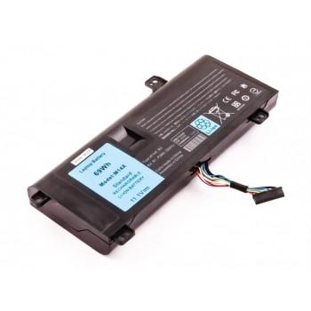 Bateria Dell Alienware A14 M14X R1 R3 R4 G05YJ compatível 11,1V 6220mAh 69Wh