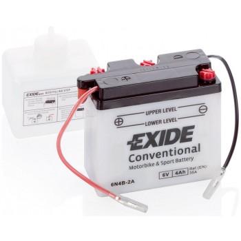 Bateria mota EXIDE 6N4B-2A, 6V 4Ah