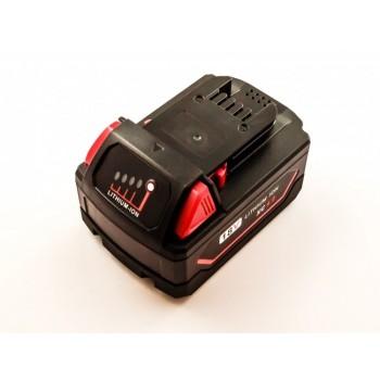 Bateria para MILWAUKEE M18, C18