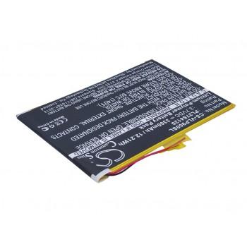 Bateria Li-Po HBT2784120 3,7v 3300mAh 12,2Wh (84*120*2,7 mm)
