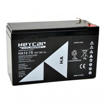 Bateria 12V 7Ah (term. F1) Heycar AGM standard HA12-7S
