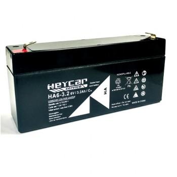 Bateria 6V 3,2Ah (term. F1) Heycar AGM standard