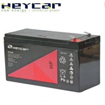 Bateria 12V 9Ah (term. F2) Heycar AGM alta descarga