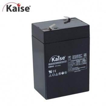 Bateria 6v 4,5Ah (term. F1) Kaise AGM chumbo