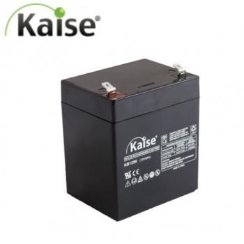Bateria 12V 5,0Ah (term. F2) Kaise AGM chumbo