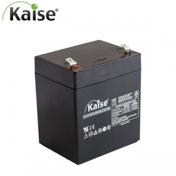 Bateria 12V 5,4Ah (term. F2) Kaise AGM Alta Descarga