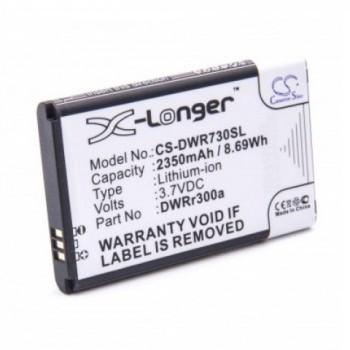 Bateria para Router Wireless D-Link DWR-730 DWRr300a DWRr600b, 3,7V 2350mAh 8,7Wh