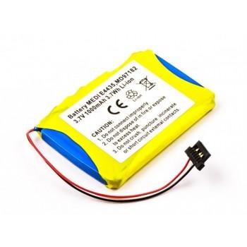 Bateria para Medion GPS E4435 MD97182, 3,7V 1000mAh 3,7Wh