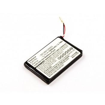 Bateria para GPS Navigon 72 Easy, 3,7V 1000mAh 3,7Wh