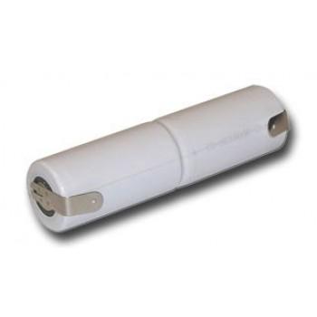 Bastão Sub C NiCd 2,4v 1600mAh para armaduras de emergência