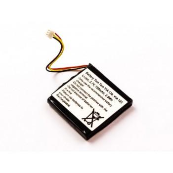 Bateria para GPS TomTom Via 120 Via 125, 3,7V 700mAh 2,6Wh