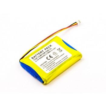 Bateria para TomTom One XL, 3,7V 950mAh 3,5Wh