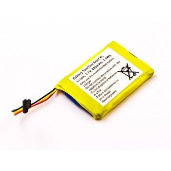 Bateria para TomTom Start XL, 3,7V 800mAh 3,0Wh
