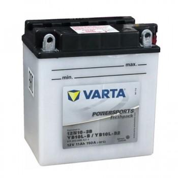 Bateria mota YB10L-A2 12V 11Ah Varta alta performance 136x91x147mm -/+