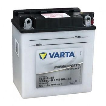 Bateria mota YB10L-B 12V 11Ah Varta alta performance 136x91x147mm -/+