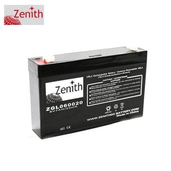 Bateria 6V 7,0Ah (term. F1) Zenith AGM standard