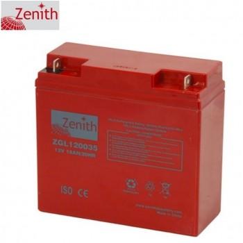 Bateria 12V 18Ah (term. F3) Zenith AGM standard
