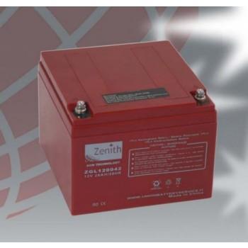 Bateria 12V 26Ah (term. M5) Zenith AGM chumbo
