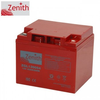 Bateria 12V 45Ah (term. M6) Zenith AGM chumbo