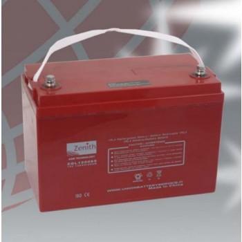 Bateria 12V 120Ah (term. M8) Zenith AGM chumbo
