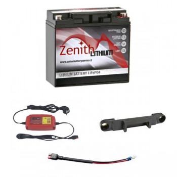 Bateria lítio (LiFePO4) Golfe 36 buracos + carregador + adaptador