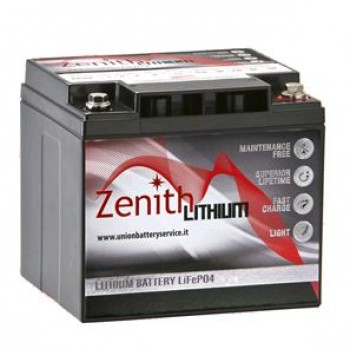 Bateria Lítio LiFePO4 12V 40Ah (Zenith ZLI012030)