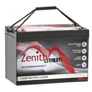 Bateria Lítio LiFePO4 12V 100Ah (Zenith ZLI012050)