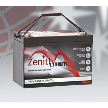 Bateria Lítio LiFePO4 24V 50Ah (Zenith ZLI024035)