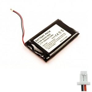 Bateria para Garmin Nuvi 300 600 610 650, 3,7V 1500mAh 5,6Wh