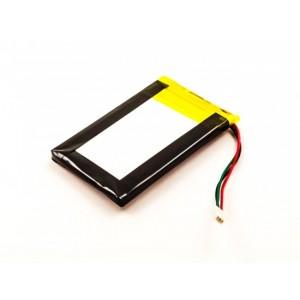 Bateria GPS Garmin Nuvi 1300 1350 1370 1390 compatível 3,7V 1250mAh 4.6Wh