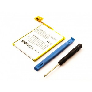 Bateria para Apple iPod Touch 5th Gen., 3,7V 1000mAh 3,7Wh