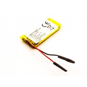 Bateria para Apple iPod nano 6th, Li-Polymer, 3,7V, 150mAh, 0,6Wh