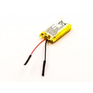 Bateria para MP3, MP4 Plantronics, CS70, 66278-01, 3,7V, 140mAh, 0,5Wh