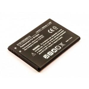 Bateria para GPS Becker Active 6 LMU Plus, 3,7V, 1550mAh, 5,7Wh